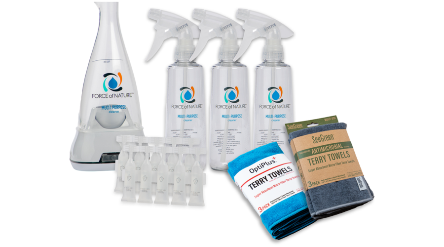 Force of Nature Sanitization Deluxe Kit