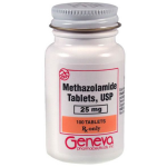 METHAZOLAMIDE 25 MG TABLETS 100CT