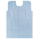 "Bib And Ties 18 X 25"" Blue 250/case"