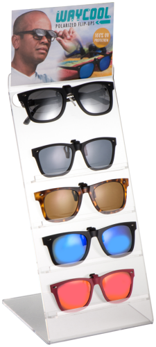 WayCool Polarized Flip-Ups Display