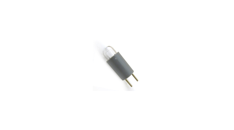 Retinoscope Bulb 360-125 2.4 - 2.8V Tungsten for Optec 360 - Silver Pins