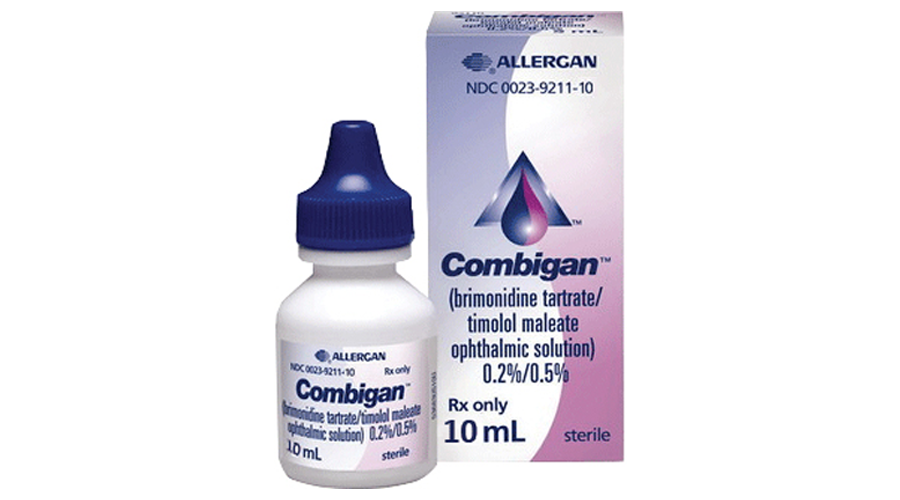 COMBIGAN OPHTHALMIC SOLUTION 10ML 0.2-0.5% NDC 00023-9211-10