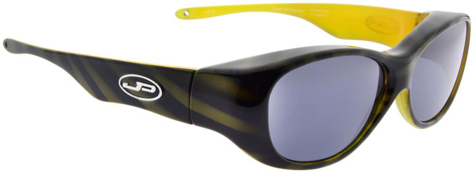 Jpe:  Tiger Brown With Yellow Polarvue Grey
