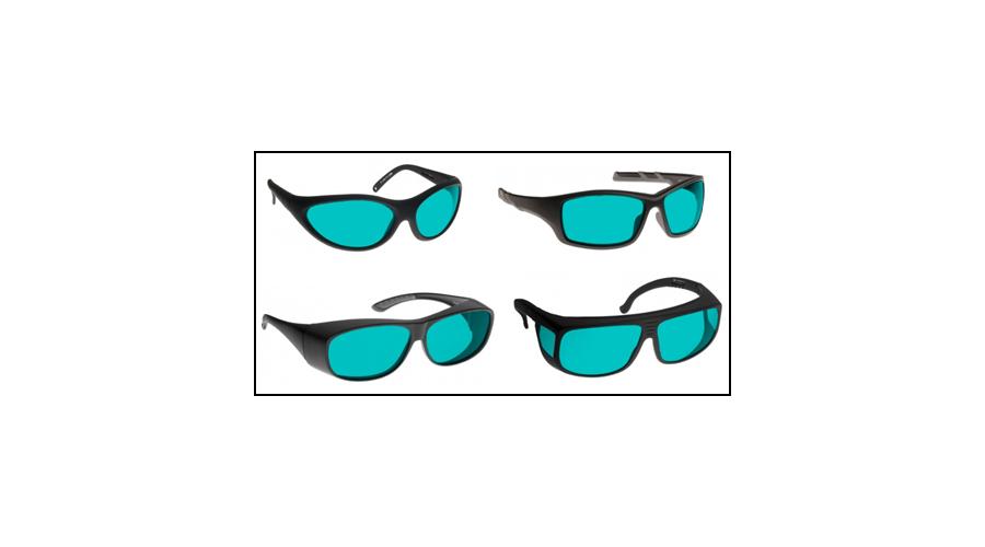Noir Wraparound Aqua Glasses Red 640-670Nm Lasers