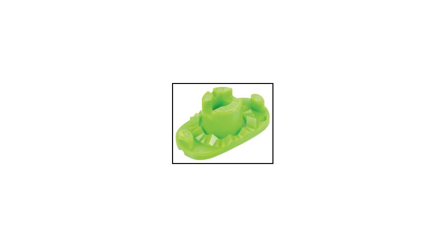 Pliable Lens Block Green - 10Pcs