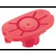 Pliable Lens Block Red - 10Pcs