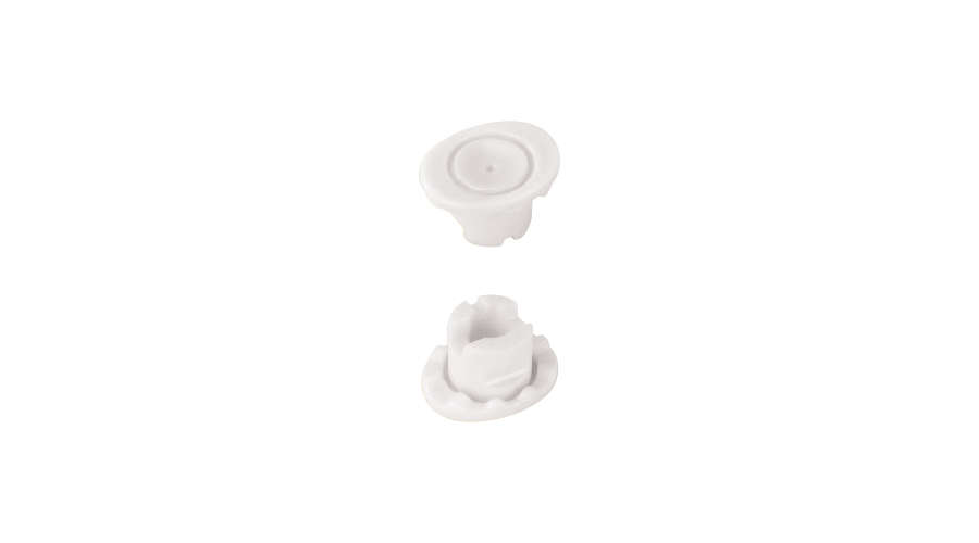 Mini Lens Block White - 10Pcs