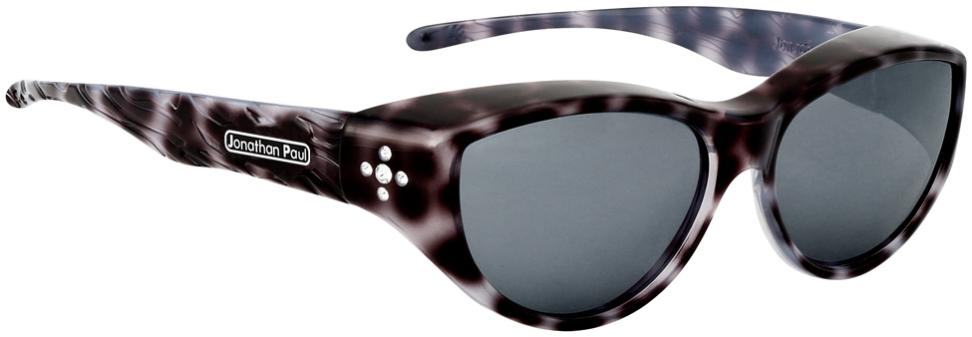Jpe: Chic Kitty Black Cheetah Polarvue  Grey