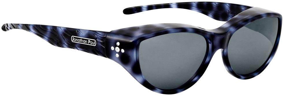 Jpe: Chic Kitty Blue Cheetah Polarvue  Grey