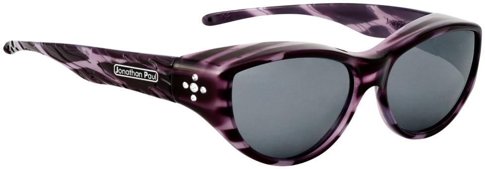 Jpe: Chic Kitty Purple Cheetah Polarvue  Grey