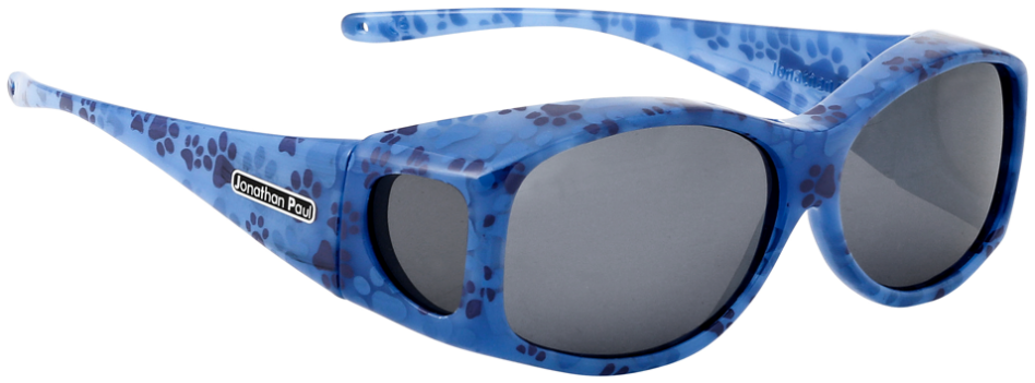 Jpe: Glides Blue Paws Polarvue  Grey