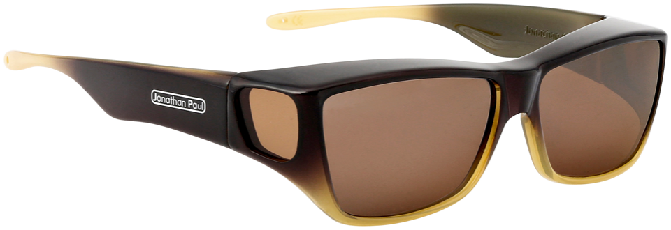 Jpe:  Traveler Brown/Tan Ombre Polarvue  Amber