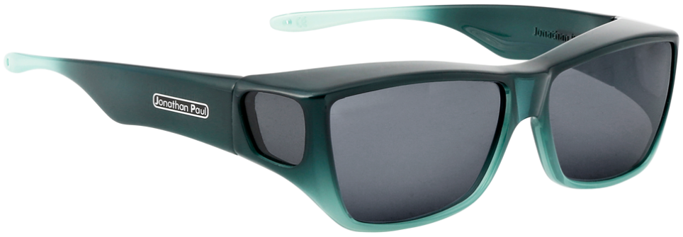 Jpe:  Traveler Emerald/Jade Ombre Polarvue  Grey