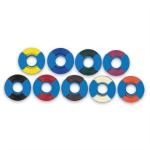 """Instrument ID Roll Tape - Black, 1/4"""" x 300"""""""