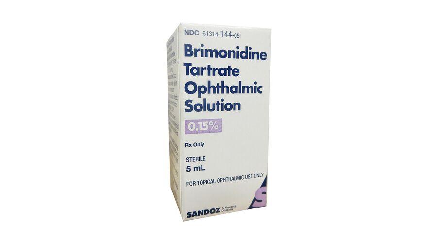 Brimonidine Tartrate 0.15% 5Ml