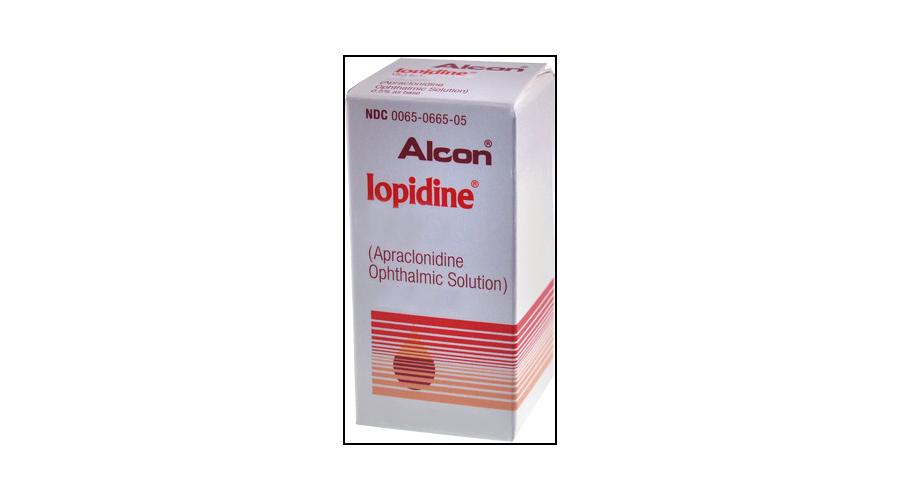 IOPIDINE 1% OPH SOLN 12 X 2 X 0.1 ML NDC 00065-0660-10