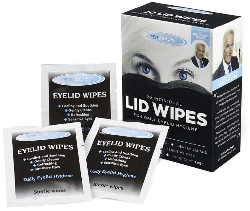 The Eye Dr Lid Wipes 20/bx