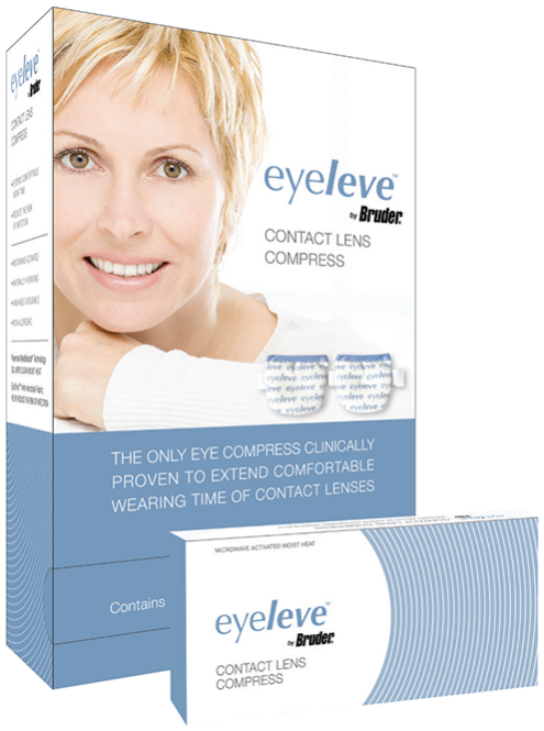 Eyeleve™ by Bruder® Contact Lens Compress Dispenser BX10