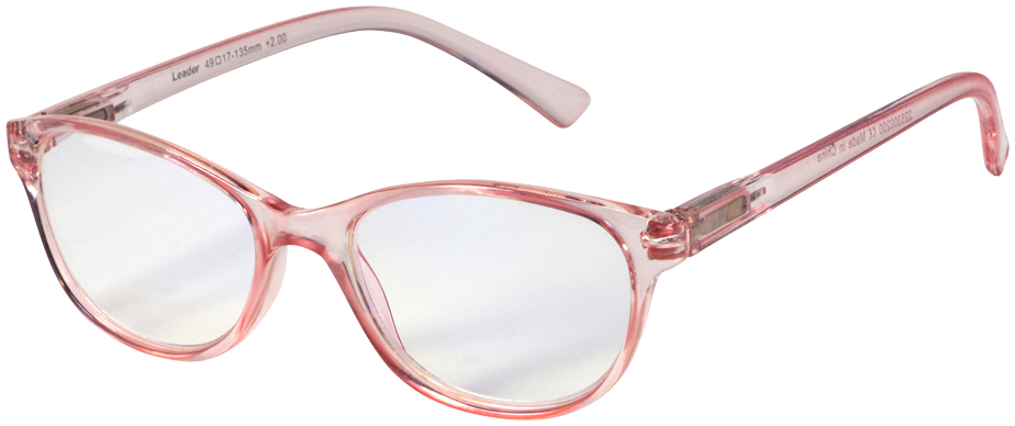 Blu-Ban Glasses Angelica Rose Plano