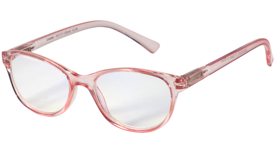 Blu-Ban Glasses Angelica Rose +1.0