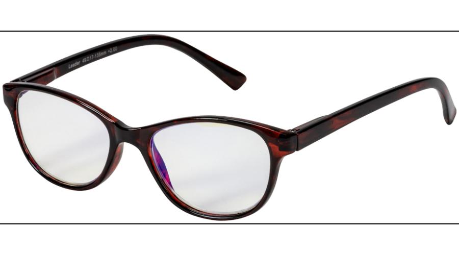 Blu-Ban Glasses Angelica Havanna +1.5