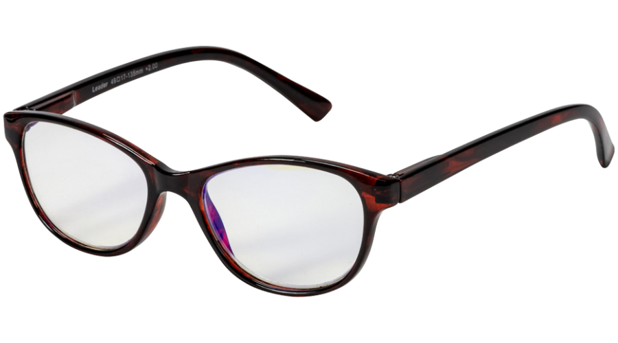 Blu-Ban Glasses Angelica Havanna +2.0