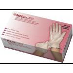Mediguard Vinyl Synthetic Exam Glove Large