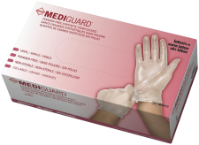 MediGuard Vinyl Synthetic Exam Gloves