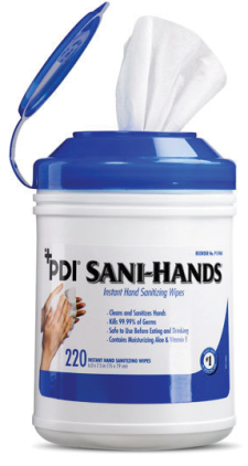 PDI Sani-Hands® Antimicrobial Hand Wipes