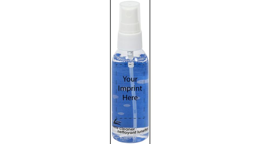Lens Cleaner: 2Oz Cl/white Pmp, Std Label Imp