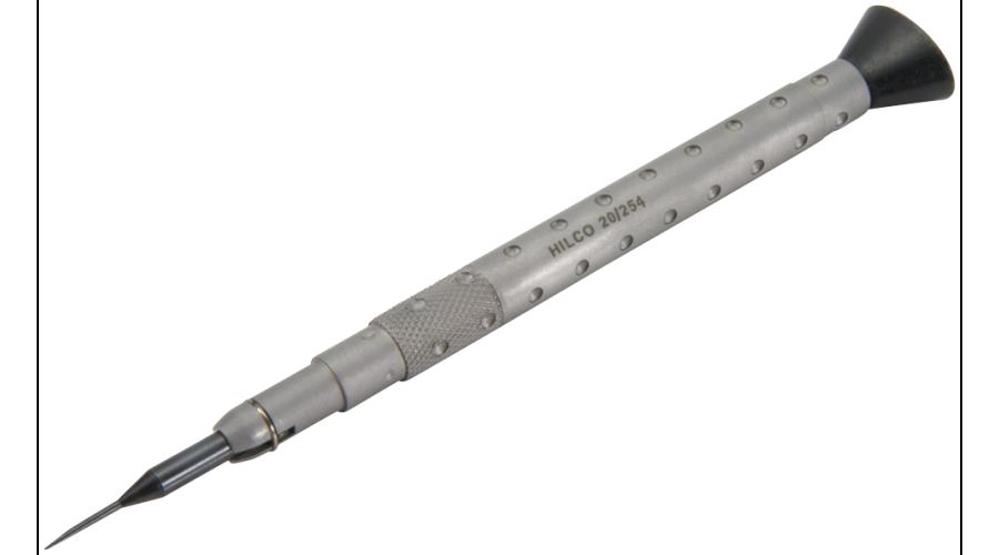 1.0mm Flat Head Blade
