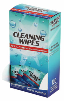 Alcohol Based Hygienic Cleaning Wipes for PPE