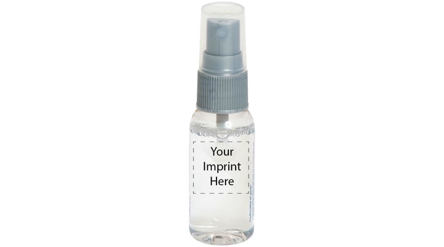 LENS CLEANER:1OZ CLEAR W/SILVER PUMP,SS