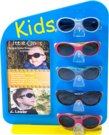 Pediatric 5 Piece Sunglass Assortment With Display
