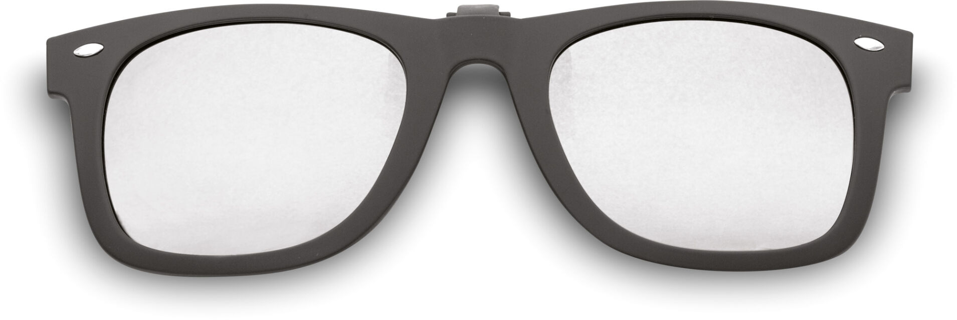 WayCool Sr. Flip-Ups Black/Silver Mirror, Polarized