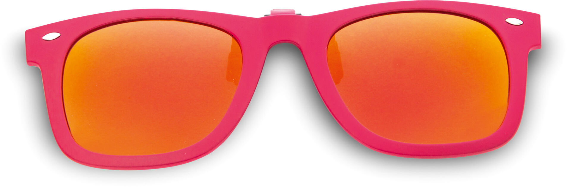 WayCool Jr. Flip-Ups Pink/Red Mirror Polarized
