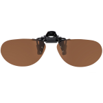 Flip-Up Small Aviator Brown Polarized 52-11