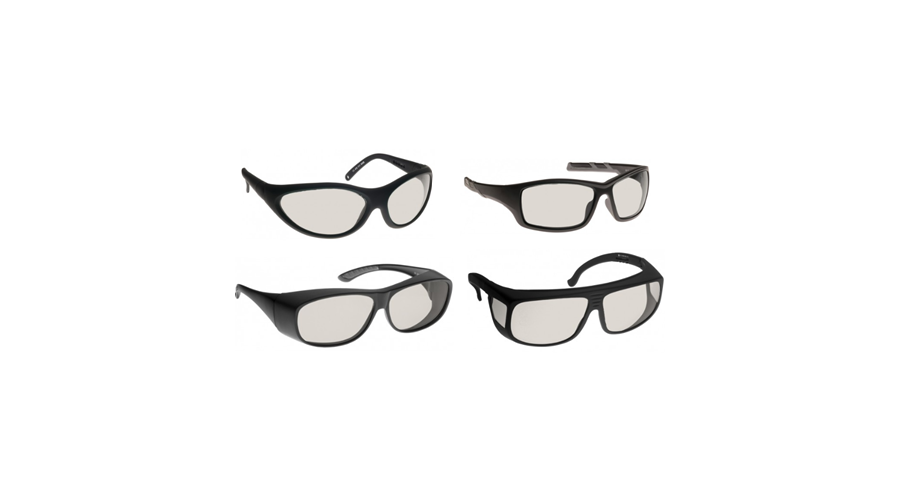 Noir Wraparound Clear Glasses Excimer/co2 Lasers