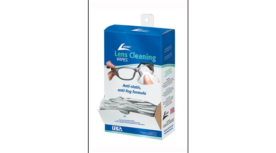 Lens Cleaning Towelette Dispenser - 100/bx