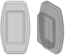 Rectangular Nose Pads