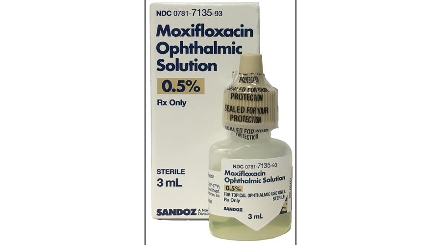 Moxifloxacin Opht Soln 0.5% 3Ml