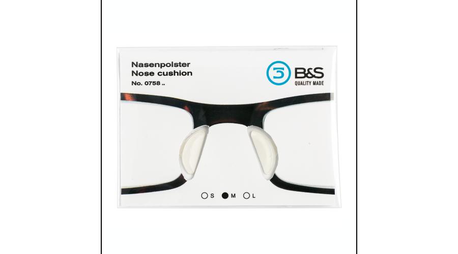 Self-Adhesive Nosepad Sili Med 10Pr