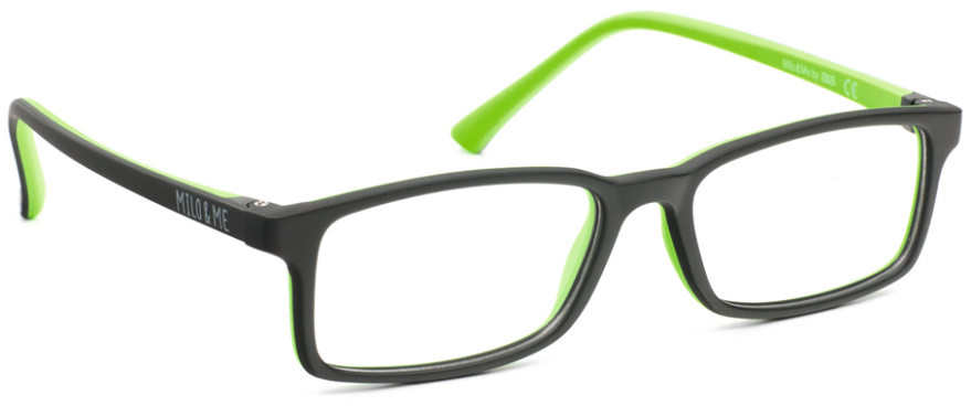 Milo & Me 85021 Black / Apple Green 48-15