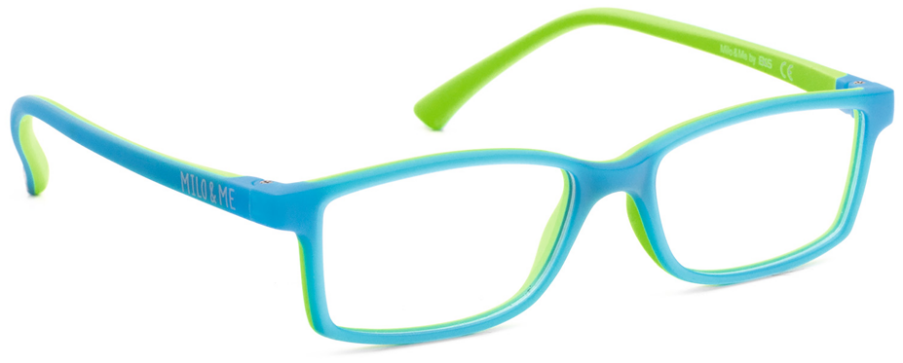 Milo & Me 85010 Light Blue / Apple Green 45-14