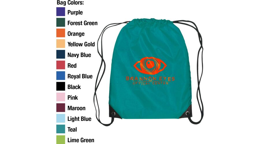 DRAWSTRING BACKPACK PERSONALIZED