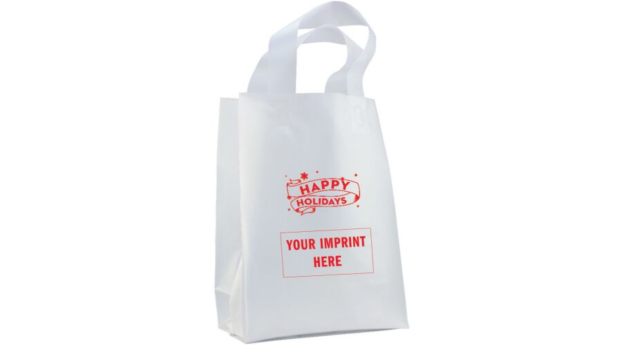 """8"""" X 11"""" PERSONALIZED SUPPLY BAG (HOLIDAY)"""