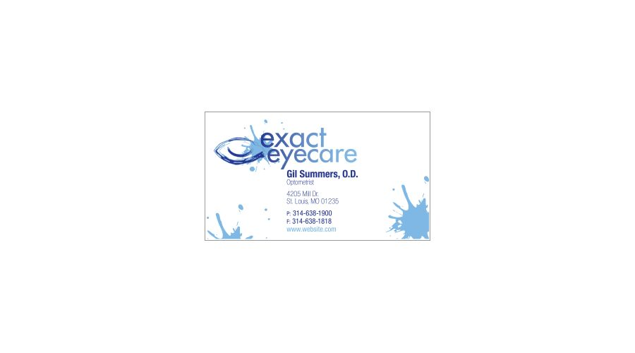 """3 1/2"""" X 2""""  BUSINESS CARD MAGNET WITH A  COLOR PERSONALIZED"""