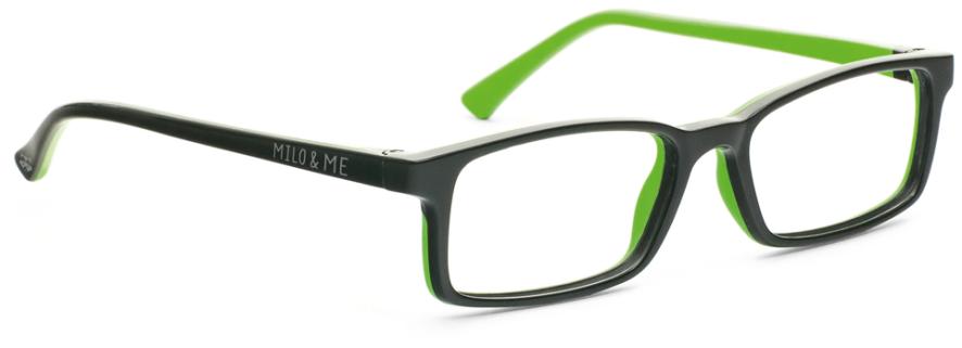 Milo & Me 85020 Black / Apple Green 46-15
