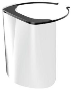 Disposable Full Face Shield Visor Frame Ea