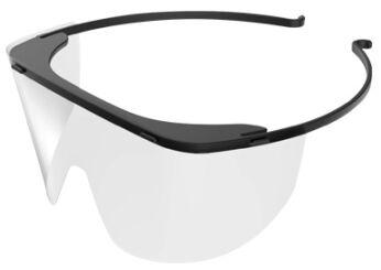 Disposable Protective Eye Shield Visor Frame Ea